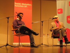 Cédric Wermuth trifft Helmut Hubacher