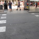 Fussgänger-Übergang Barcelona